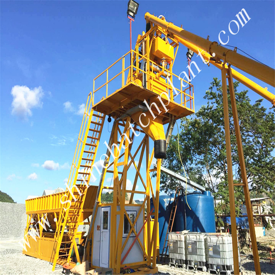 No Foundation Concrete Batching Plant 02