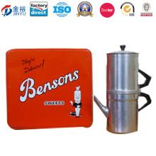 Luxus Butter Kaffee und Kekse Tin Box