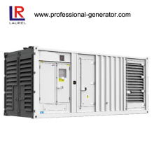 50Hz 750kVA White Cabinet Container Diesel Generator