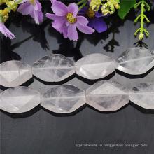 30 мм большой естественный камень ожерелье дизайн бусины