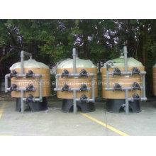 Filtre à eau de l'industrie à haut débit pour le traitement de l'eau