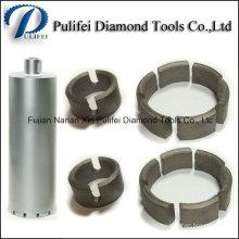 Коронки алмазного сегмента для бита Пустотелого сверла использовать для укрепления бетона камня отверстие
