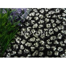 """POLY MESH WITH 3MM +3MM SEQUIN EMBD 50/52"""""""