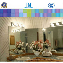 Miroir en aluminium / Salle de bains / Meubles / Miroir en argent clair / Miroir en argent gratuit sans cuivre