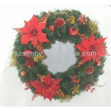 Nouvelle pinecone de couronne de Noël