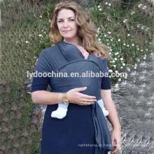 Mais recente estilingue portador de bebê envoltório 100% algodão transportadora envoltório estilingue recém-nascidos