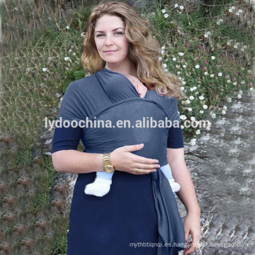 Último Baby Carrier Sling Wrap 100% Cotton Carrier Wrap honda Recién nacidos