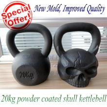 Custom Logo Fitness 20kg Skull Russian Kettlebell