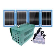 Sistema de iluminación solar para energía solar