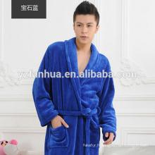 Peignoir chaud hiver unisexe flanelle Fleece Ladies'