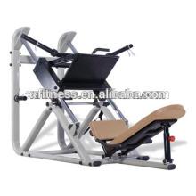 equipamento profissional do gym sobre a máquina da imprensa do pé do tubo 3mm