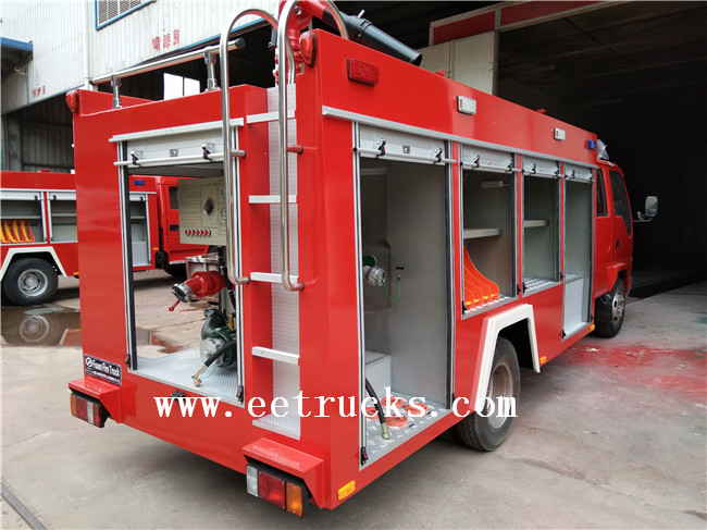5500kg Load Capacity Fire Trucks