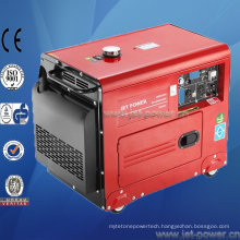 Low Rpm 5.5kVA Diesel Generator Silent 50Hz 220V in Stock