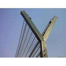 Clôture en PVC revêtu de bonne qualité