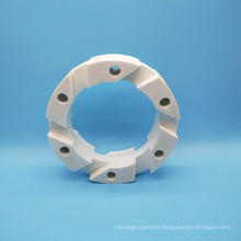 Wear Resistant Zirconia Ceramic flywheel Spare Parts for Sand Mill