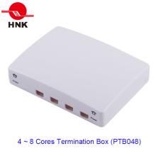 4 Ports Fiber Optic Cable Termination Box (PTB048)