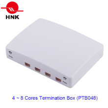 4 порта для подключения оптического кабеля (PTB048)