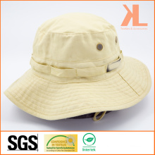 Cotton Twill Fishmen Hat with Mesh Eyelets on Body
