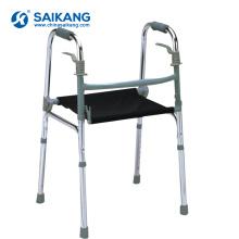 SKE206 Алюминиевый складной комод ходунки с сиденьем для пожилых людей