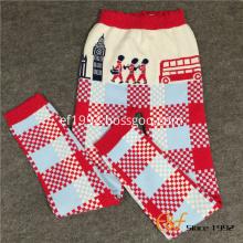 National Culture Style Girl Jacquard Warm Long Pants