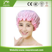 Atacado Custom Two-Layers Shower Cap