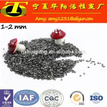 Antracite calcinado de 1-5mm para fundição de aço e ferro