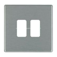 Kundenspezifische Metall-Edelstahl-Ausgangswand-Stirnplatte