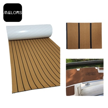 Decking composto do assoalho da esteira do barco do iate da teca de Melors