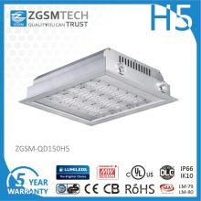 Lumière d'auvent de l'IP66 150 watts LED pour l'éclairage de station service
