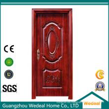 Puertas de hierro exteriores de acero metálico