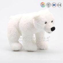 Los animales de peluche oso polar Oso blanco gigante y nuevos nombres para el oso de juguete