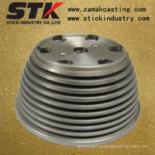 Металлическая обрабатывающая деталь с покрытием и польский (STK-C-1032)