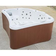 Banheira de hidromassagem de acrílico ao ar livre de forma encantadora (JL980)