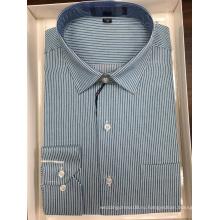 Окрашенная в пряжу деловая рубашка