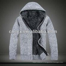 12STC0638 утолщенной мужские свитер пальто