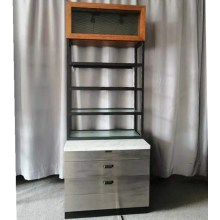 Hautpflege-Ausstellungsstand Einzelhandelsmöbel aus Holz und Metall