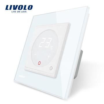 Livolo ЕС Стандартный регулятор температуры нагревательного устройства Переключатель переменного тока 110-250 В VL-C7-01TM-11