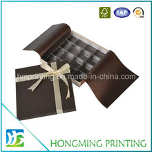 Custom Design Chocolate Boxes with Plastic Trays
