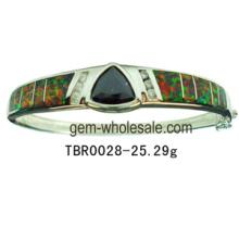 Opalin argenté bracelet bijoux (YB00006)