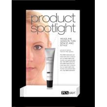 Expositor de luz led para cosméticos