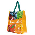 Factory whoelsale custom printed folding recyclable pp woven laminated bag