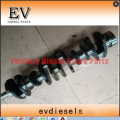 SA6D95L cylinder head block crankshaft connecting rod