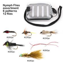Mouches de pêche à la mouche nymphe parfaite