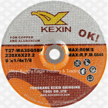 Alumina Abrasive Cuttingdisc/Grinding Disc for Stainless Steel