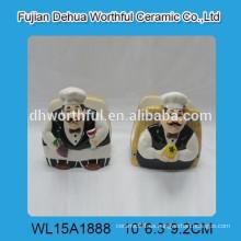 Sostenedor de cerámica de la servilleta del cocinero de la cocina de la alta calidad