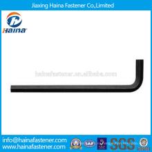 На складе Китайский производитель Лучшая цена DIN911 Углеродистая сталь / нержавеющая сталь шестигранный ключ
