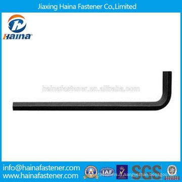 En Stock Fournisseur chinois Meilleur prix DIN911 Acier au carbone / Acier inoxydable clé hexagonale