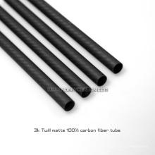 China Hersteller Rohr 16x14x1000mm Fabrik Kohlefaserrohr