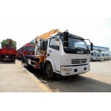 Dongfeng camión de auxilio camión grúa cama de auxilio del retroceso