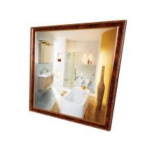 стеклянные настенные зеркала декоративные дешево с золотой раме зеркало тщеславия горячая распродажа